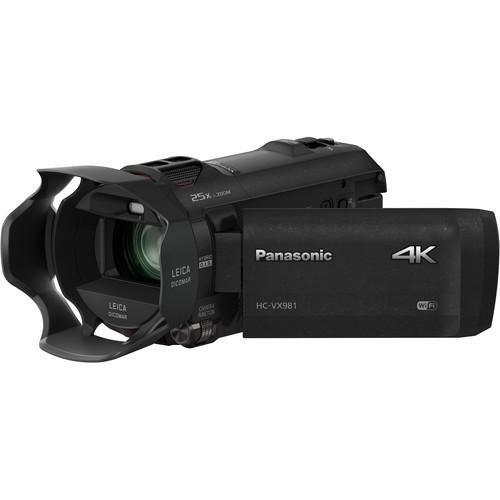 a Panasonic 4K Camcorder